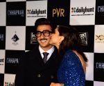 Deepika Padukone kisses 'cutie' Ranveer's 'squishable face'