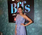 Deepika Padukoneon the set of Jeep Presents BFF's