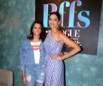 Deepika Padukone and Anisha Padukone on the set of Jeep Presents BFF's