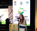 Dia Mirza in Delhi for UN conference