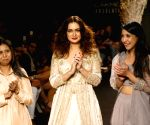 Lakme Fashion Week Winter/Festive 2017- Dia Mirza