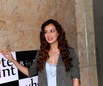 Dia Mirza promotes Braille literacy