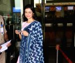 Divya Khosla Kumar seen at airport