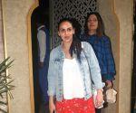 Esha Deol seen at Juhu