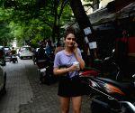 Fatima Sana Shaikh seen at Mumbai's Bandra