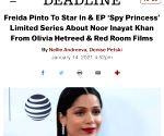 Free Photo: Freida Pinto to play Noor Inayat Khan in 'Spy Princess