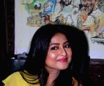 Gargi Roy Chowdhury at the launch of a restaurant