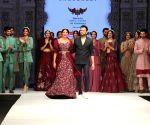 : Mumbai: Actress Gauhar Khan Walk the ramp during Bombay Times Fashion week