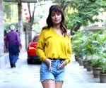 Hina Khan seen at Andheri