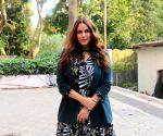 "Neha Dhupia on ""Vogue BFFs Season 3"" sets"