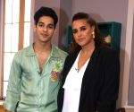 "Rajkummar Rao, Ishaan Khattar on Neha Dhupia's show ""Vogue BFFs Season 3"" sets"