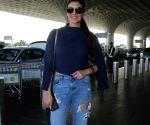Ihana Dhillon seen at Mumbai airport