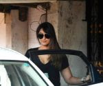 Ileana D'cruz seen outside a gym
