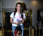 Isha Koppikar seen at a salon