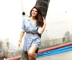 Jacqueline Fernandez seen at Mehboob Studio