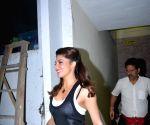 Jacqueline Fernandez seen at Bandra