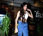 Janhvi Kapoor seen at a Bandra cafe