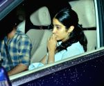Janhvi Kapoor seen at Versova