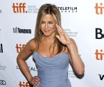 Actress Jennifer Aniston has days when she doesn't want to step out