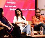 "Tata Literature Live! The Mumbai LitFest"" - Gulzar, Juhi Chawla"
