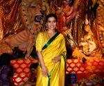 Happy Dussehra 2019: Kajol, Mouni Roy, Sushmita Sen turn into stunning Bengali beauties for Vijayadashami celebrations