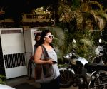 Kajol Devgn seen at a health club
