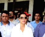 Funeral of actress Reema Lagoo