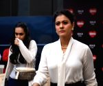 Kajol seen at studio