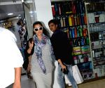 Kajol seen at Juhu