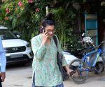 Kajol seen in Versova