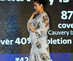 """Kangana Ranaut at """"Cauvery Calling"""" campaign"""