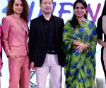 Global Forum of the XIN Philanthropy Conference 2018 - Kangana Ranaut, Shunyan Zhu and Shaina NC