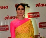 "Lokmat Maharastrian Of The Year award"" - Kareena Kapoor Khan"