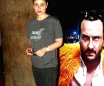"Special screening of film ""Kaalakaandi"" - Kareena Kapoor Khan"