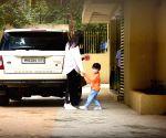 Kareena and son Taimur seen at Bandra
