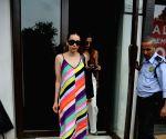 Karisma Kapoor seen at Mumbai's Bandra