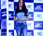 Kiara Advani during a press conference regarding Mumbai Walkathon