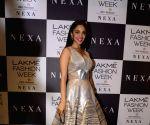 Kiara Advani during the Lakme Fashion Week Winter/Festive 2017