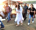 Kiara Advani seen at Versova Jetty