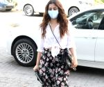 Nupur Sanon seen at Bandra