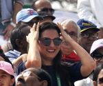 Davis Cup -Lara Dutta