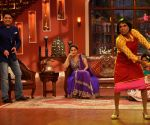 Madhuri Dixit on the sets of Comedy Nights with Kapil