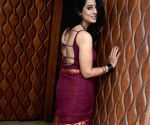 Mahie Gill during a media interaction