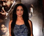 "Media interaction  of film ""Saheb Biwi Aur Gangster 3"" - Mahie Gill"