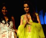 Lakme Fashion Week Winter/Festive 2018 - Malaika Arora walks for Anushree Reddy
