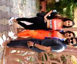 Malaika Arora, Sophie Chowdhary seen at Bandra yoga studio