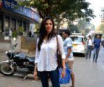 Malavika Mohanan spotted at Bandra