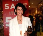 Mandana Karimi seen at a cafe