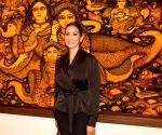 Inauguration of art show - Breaking Barriers - Rahul Bose and Manisha Koirala