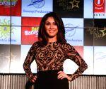 "Actress Manjari Phadnis at the music launch of her upcoming film ""Baa Baa Black Sheep"" in Mumbai on March 1, 2018."